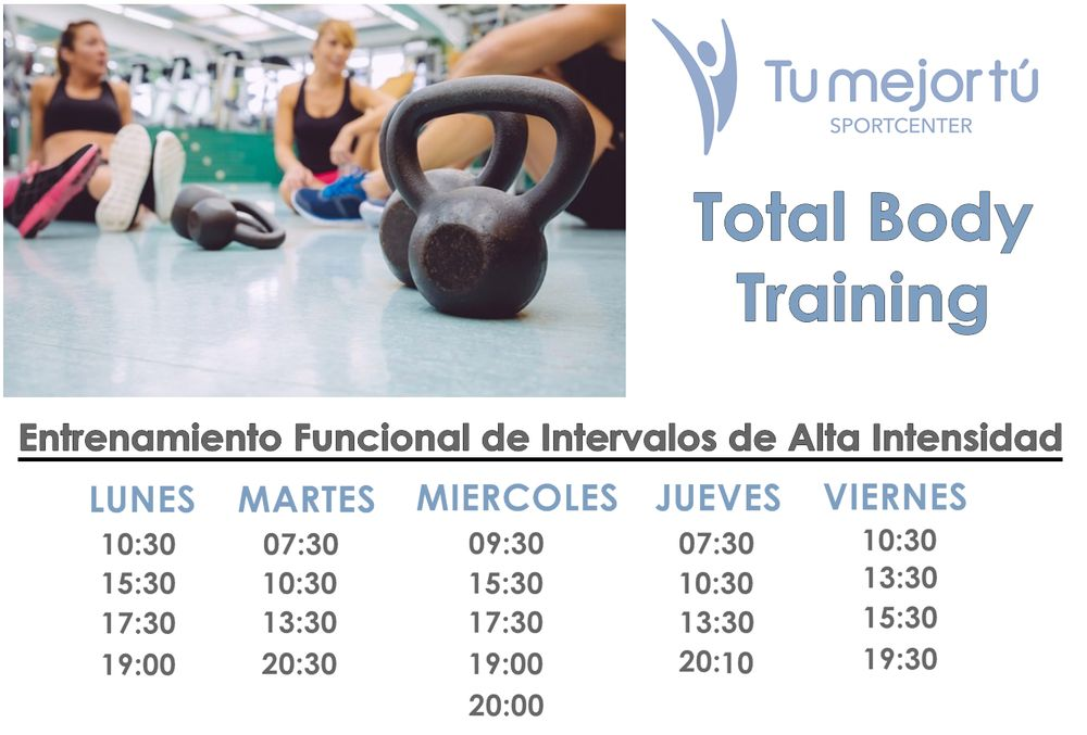 Total Body Training en Burriana en Tu mejor tú