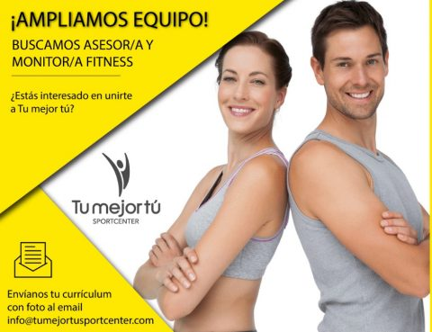 busqueda personal monitor y asesor fitness